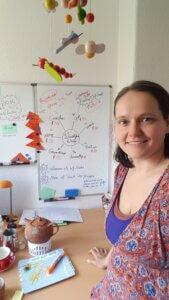 Mindmap Planung am Whiteboard Planung für Windelfreiwoche 2021 Challenge
