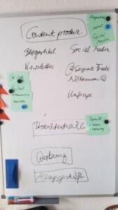 Planung für weiteres Vorgehen zum Ausbau meines Business.
